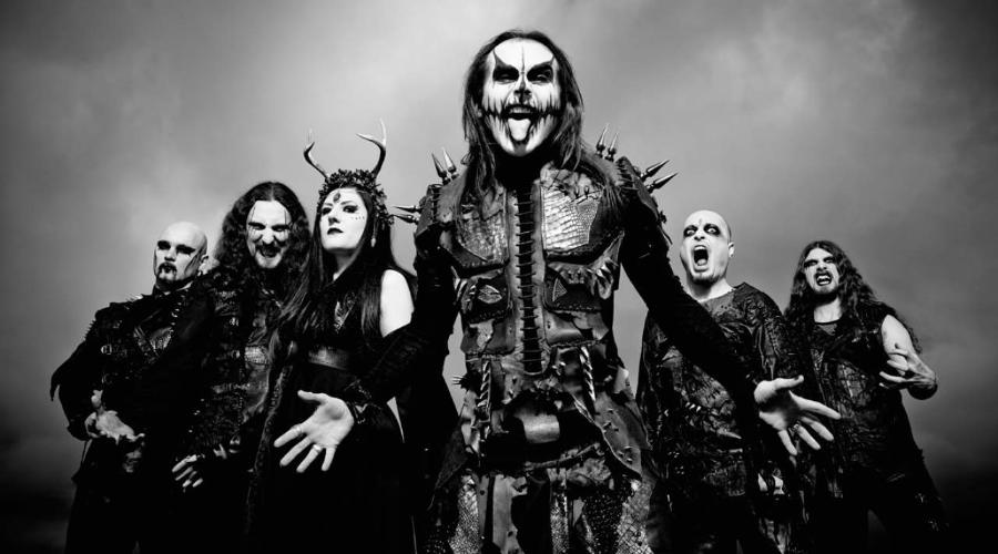 Лирик видео от CRADLE OF FILTH