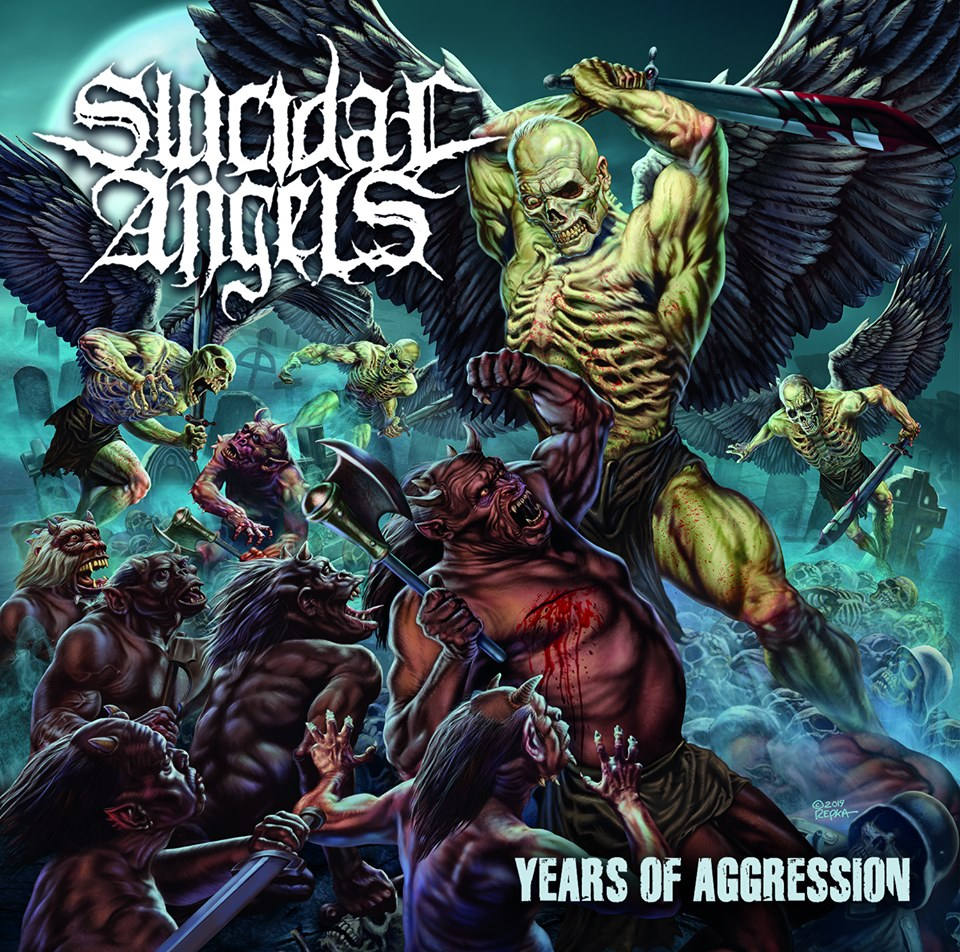 SUICIDAL ANGELS Years Of Aggression